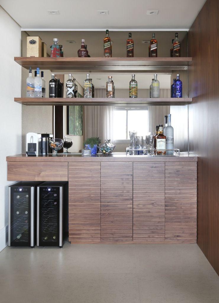 Adega Parede Espelhada No Home Bar Spestudio1 168232