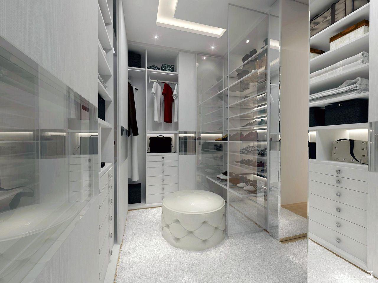 Closet Pequeno Em Branco De Thiago Luz 45049 No Viva Decora