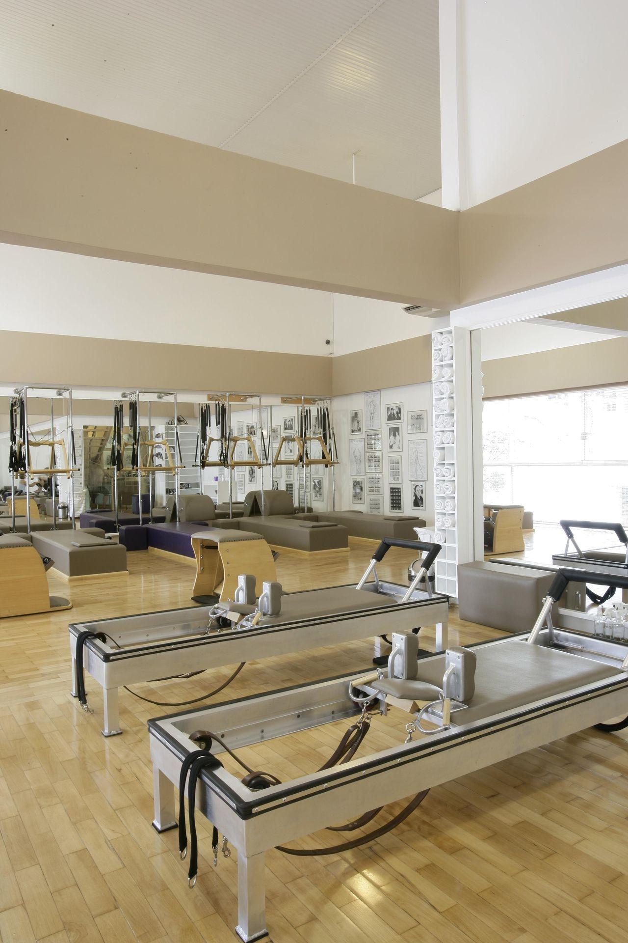 Sala De Pilates De Ant Nio Ferreira Junior E M Rio Celso Bernardes  -> Tapete Para Sala De Pilates
