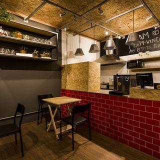 Decoração Bancada De Bar Com Tijolinhos Vermelhos Nathaliabilibio 143266