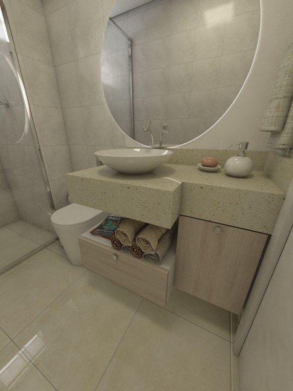 10 Dicas para Armário de Banheiro com + de 40 Fotos Incríveis -> Armario Para Banheiro Na Dicico