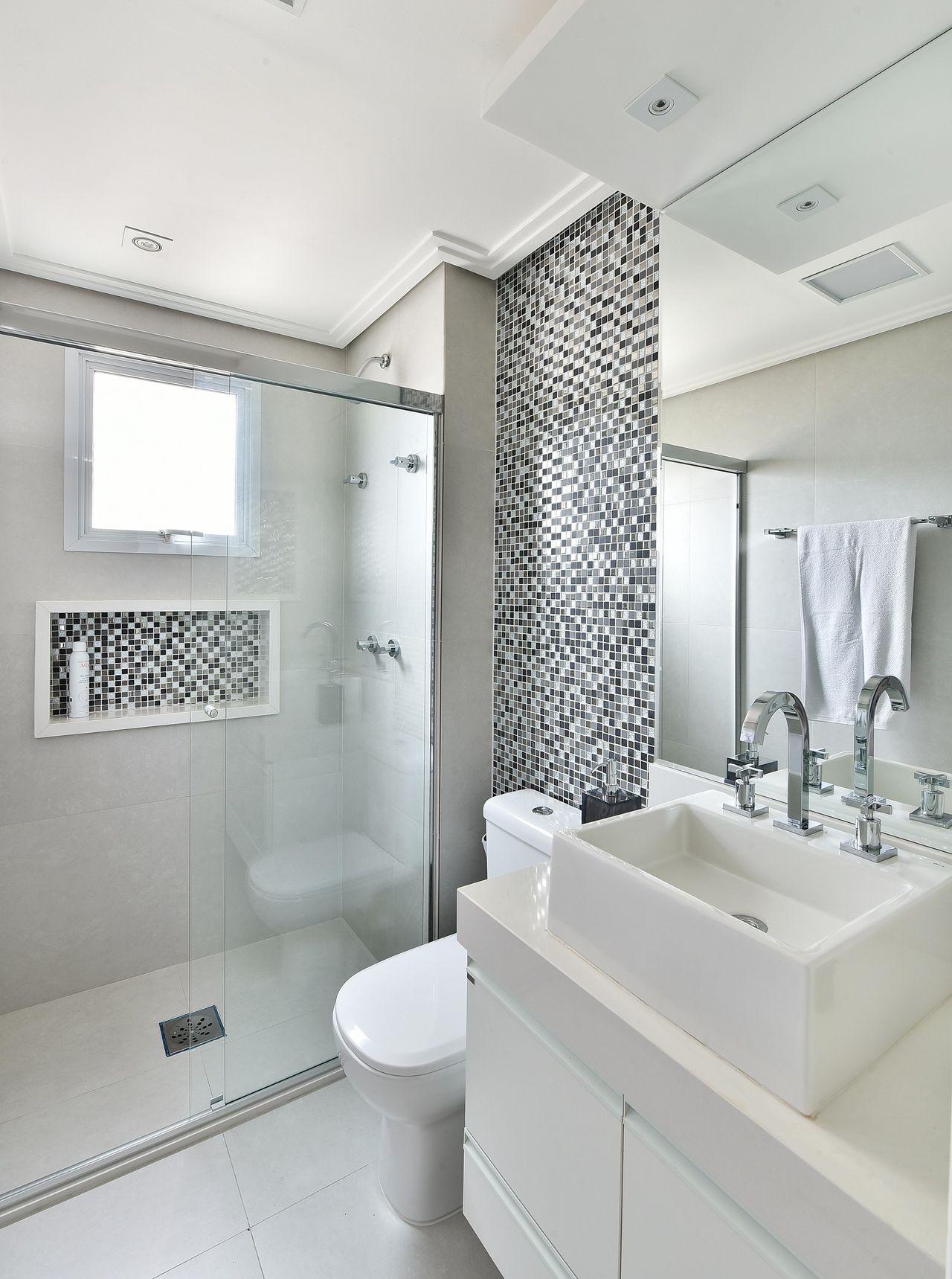 #474636 Decorao De Interiores Banheiros. With Decorao De Interiores Banheiros. Truques Para Decorar Um  1280x1719 px Banheiro Simples Todo Branco 2018 3801