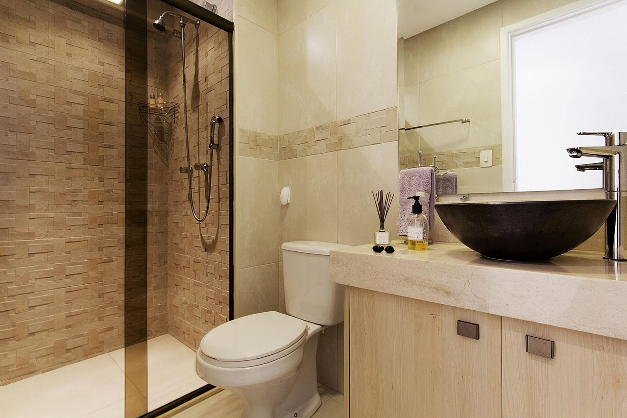 Banheiros modernos chique