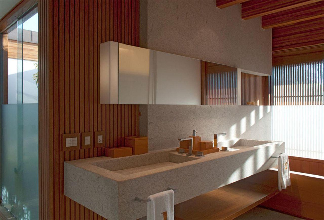 Banheiro com cuba embutida de toninho noronha 27347 no for Modelos sanitarios