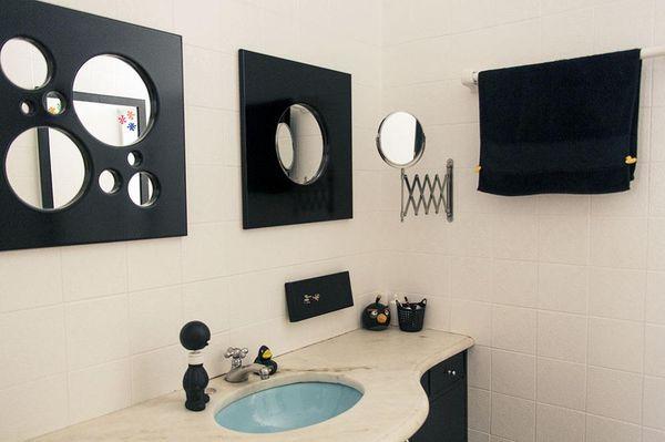 como decorar um banheiro - espelho