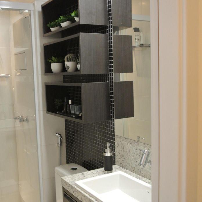 Banheiro com Pastilhas Preta de Suellen Montenegro Bezerra  49418 no Viva De -> Banheiro Com Pastilha Pret