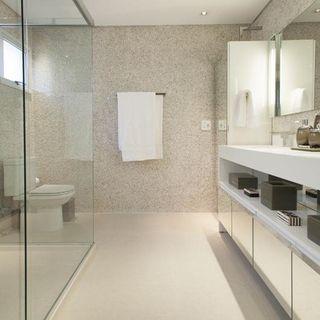 Banheiro Simples Médio Decoração 1000 Fotos Dicas E