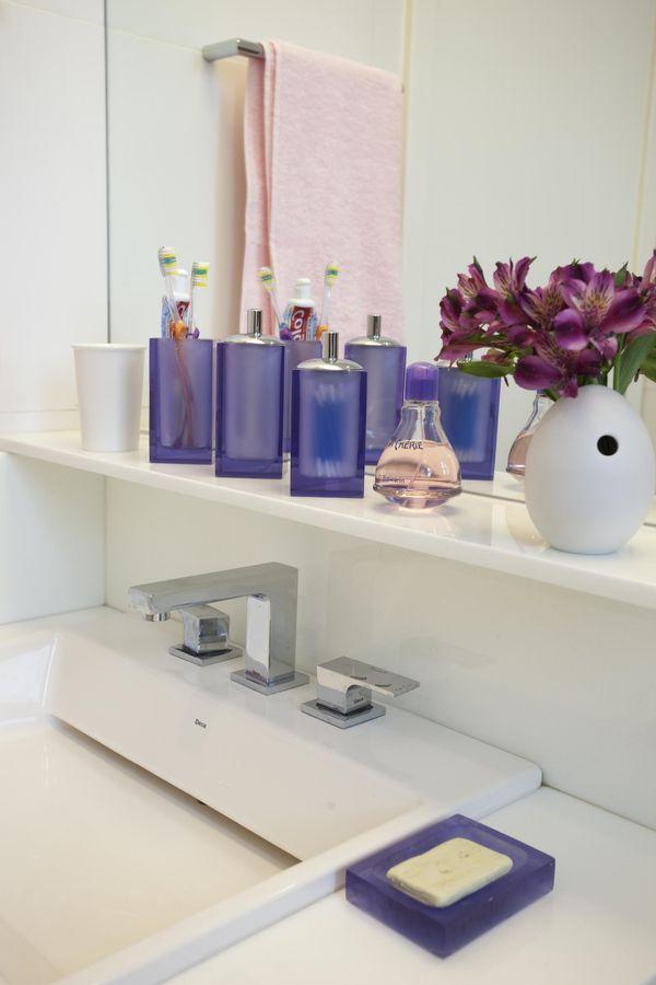 Como decorar um banheiro gastando pouco 18 dicas! -> Decoração De Banheiro Simples E Pequeno