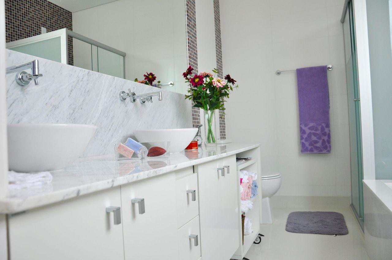 Banheiro de L2 Arquitetura  30335 no Viva Decora -> Banheiro Simples Com Banheiro