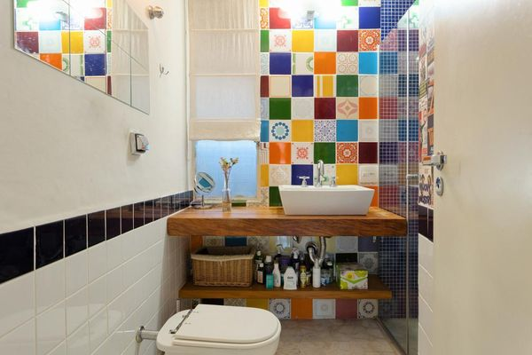 como decorar um banheiro - azulejos