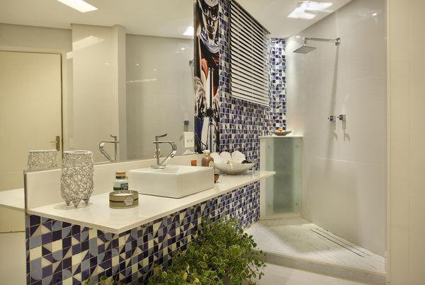 como decorar um banheiro - plantas