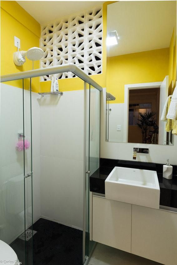 como decorar um banheiro - cores