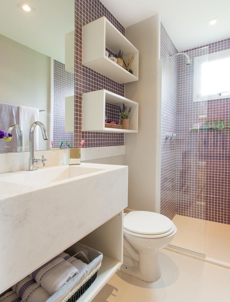 Populares 35 Banheiros Pequenos com Dicas e Inspirações para Você YW59