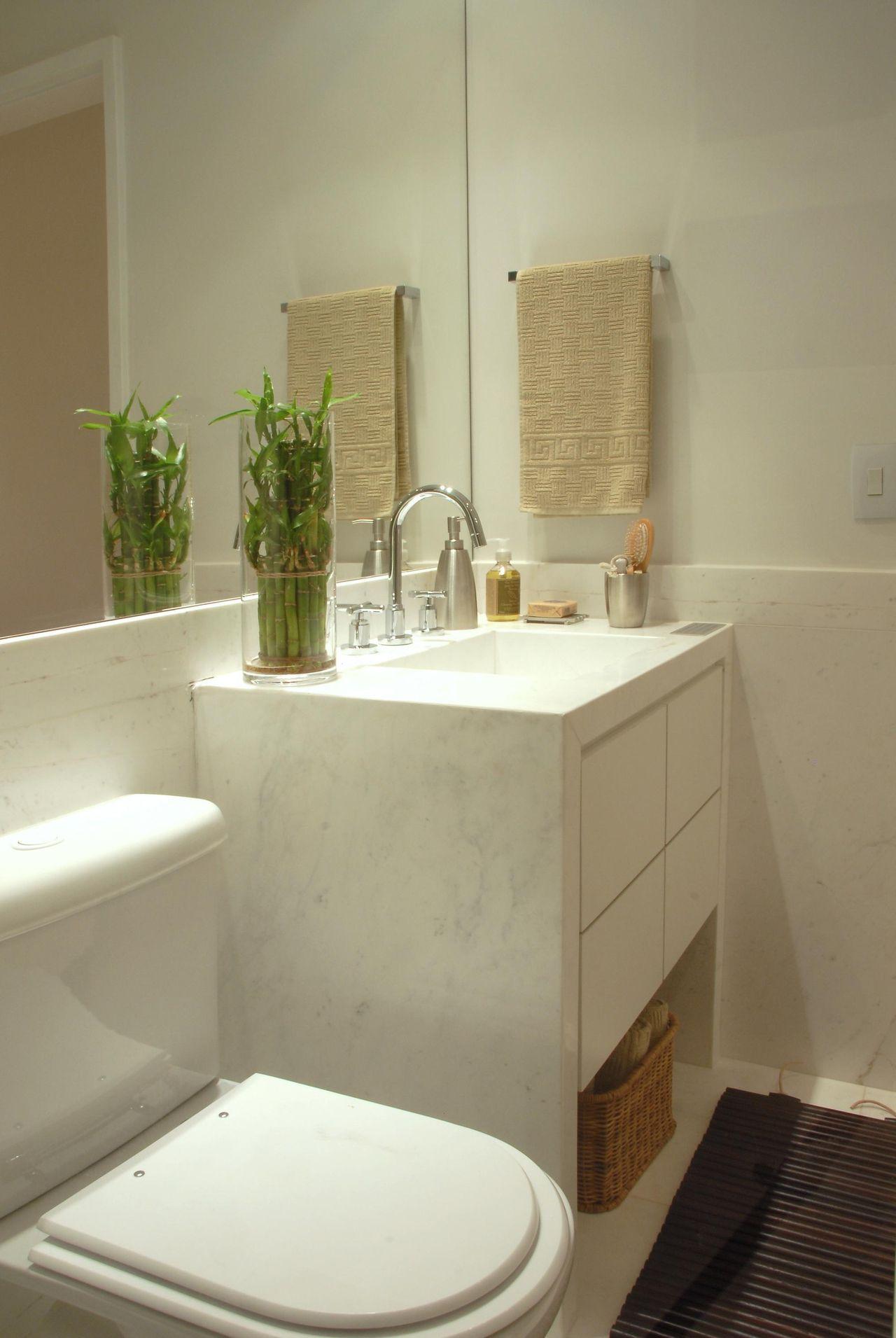 Como decorar o banheiro sem gastar muito blog sempre belas for Decorar piso pequeno fotos