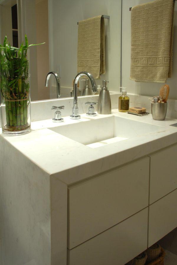 Como decorar um banheiro gastando pouco 18 dicas! -> Banheiro Simples Reforma