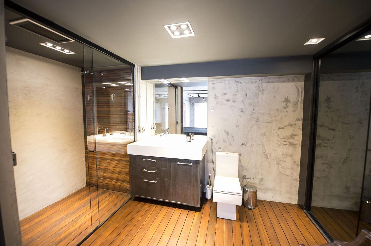 Banho Suíte de Carla Cuono Arquitetura e Interiores  62580 no Viva Decora # Banheiro Simples Suite
