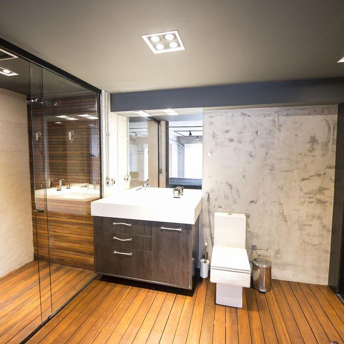Banho Suíte de Carla Cuono Arquitetura e Interiores  62580 no Viva Decora -> Banheiro Simples Suite