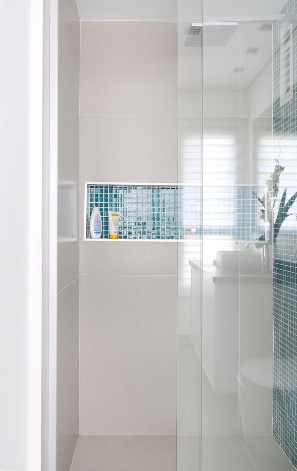 Como decorar um banheiro gastando pouco 18 dicas! -> Banheiro Simples Box
