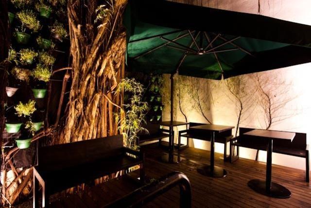 Exceptional Decoração Bar Área Externa Com Piso De Deck Paolasimoni 102290