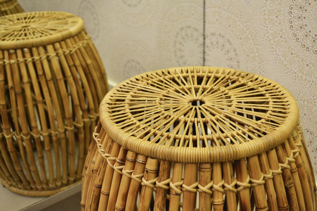 Banquinho De Bambu De Juliana De S 148039 No Viva Decora
