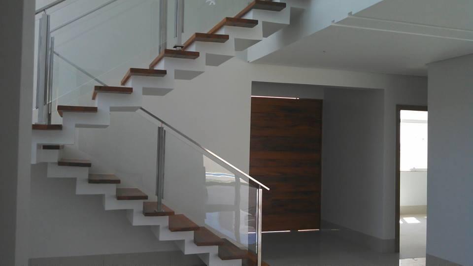 Muitas vezes Corrimão de Escada de Vidro de Tete Herculano - 44480 no Viva Decora CK82