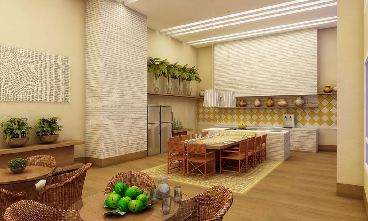 Azulejo Branco E Amarelo Na Cozinha De Denise Barretto 75910 No