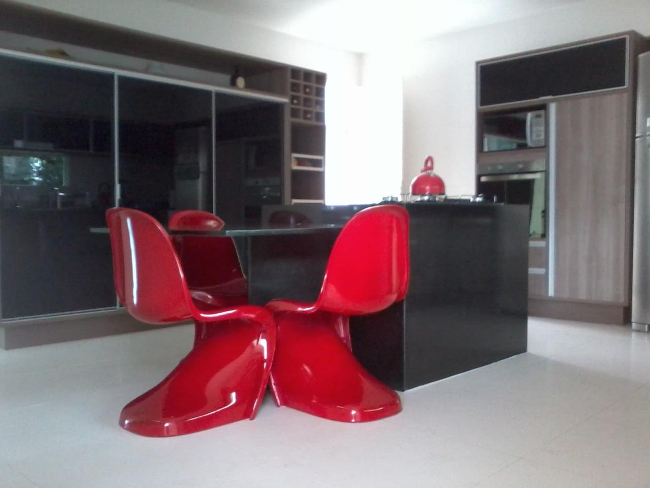 Cadeira Vermelha De Kalline Vieira Da Costa 52367 No Viva Decora