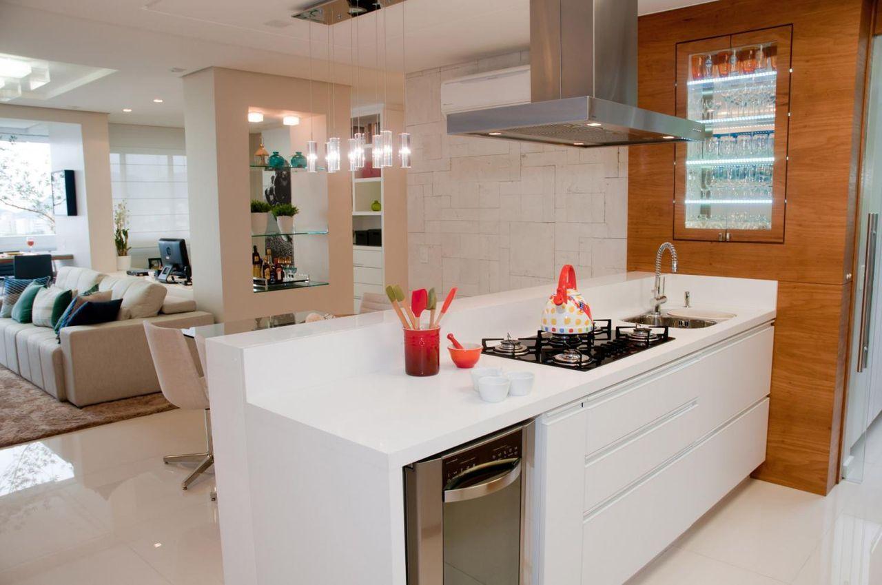 Cozinha Americana Com Arm Rio Branco De Juliana Pippi 69848 No