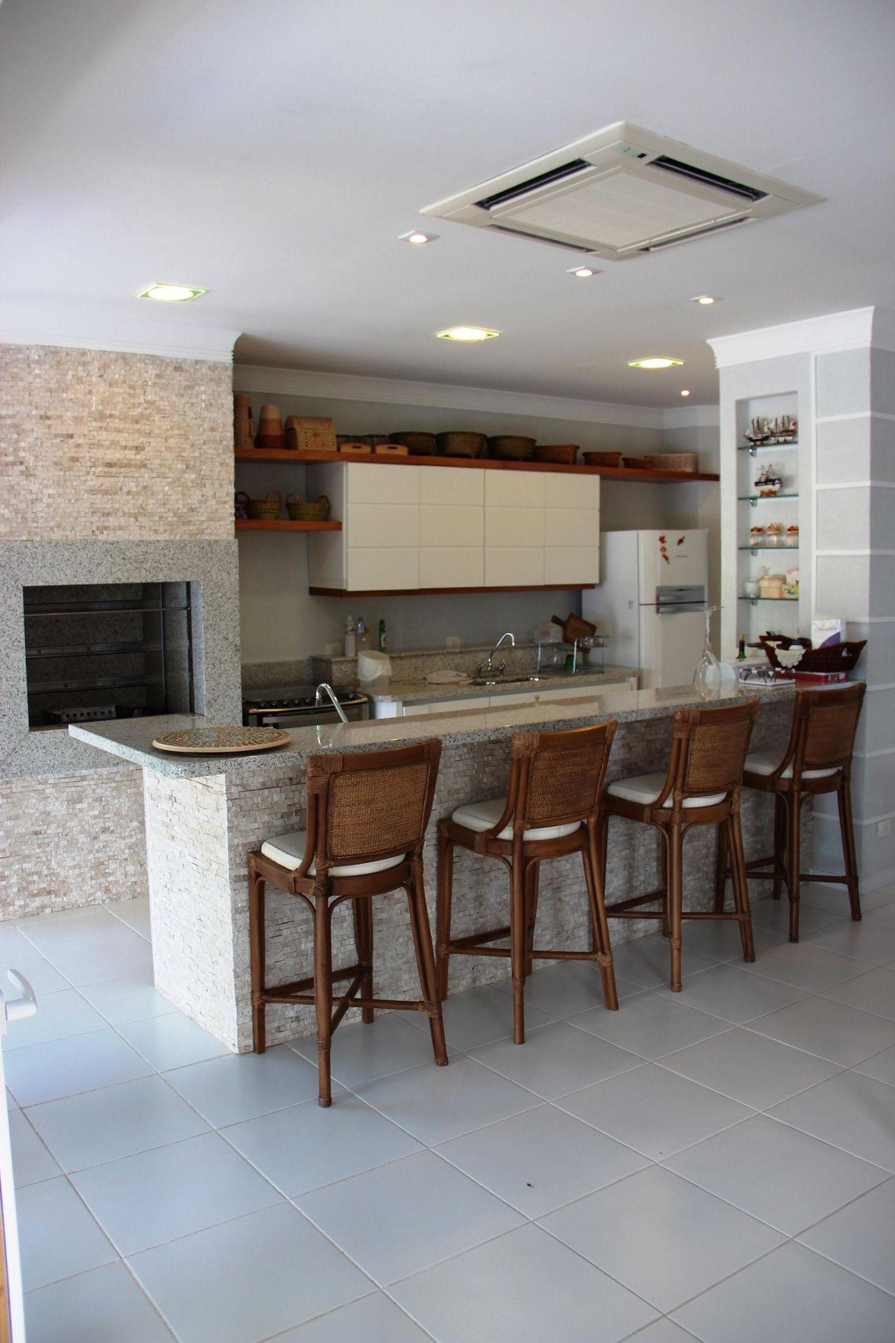 Cozinha No Quintal Com Churrasqueira Oppenau Info