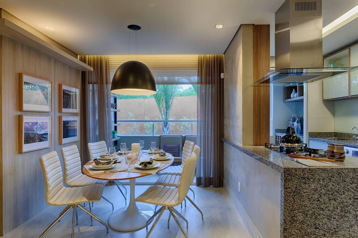 Cozinha Americana Com Coifa Inox E Vidro De Renata Basques 88827