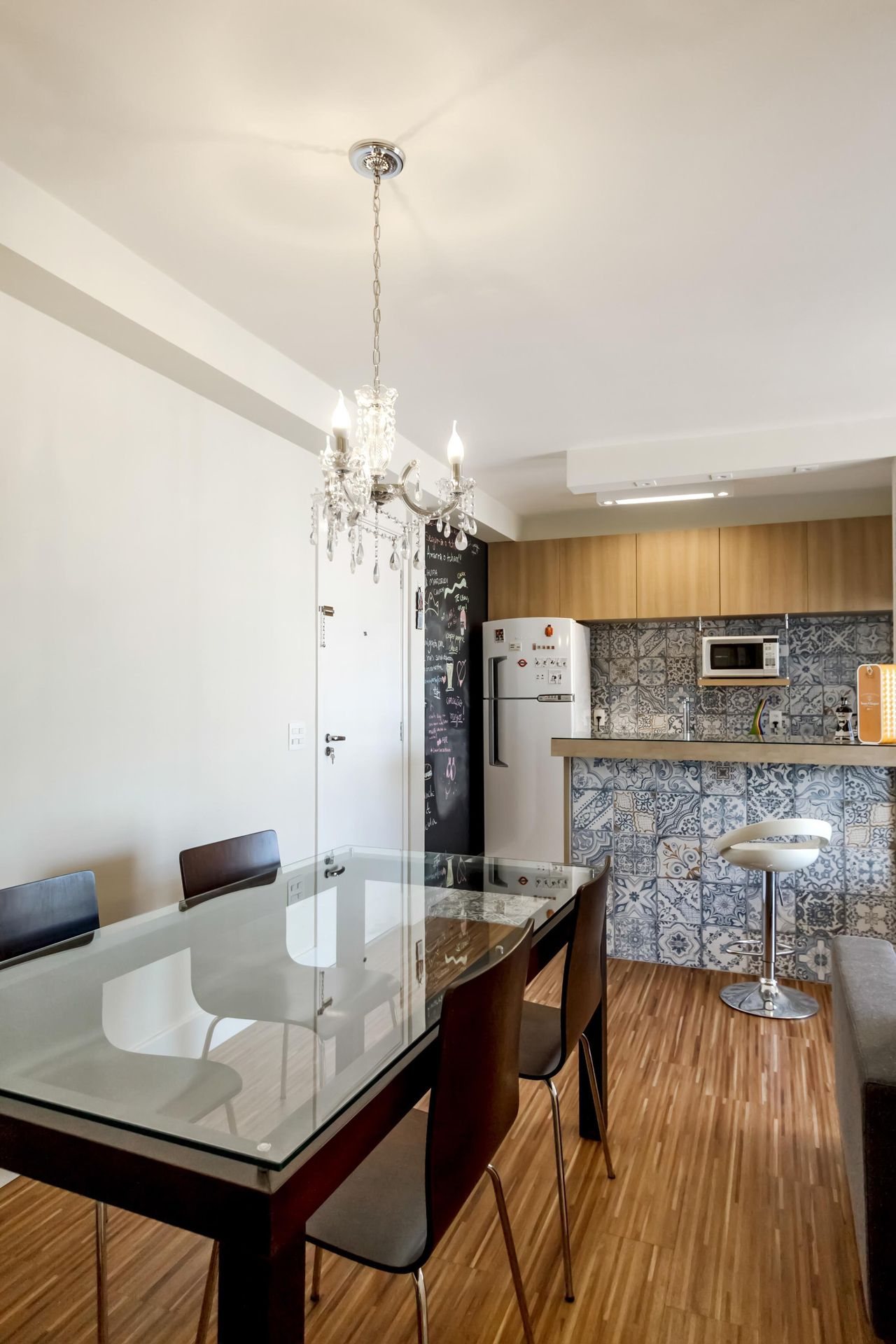 Cozinha Americana Com Lustre De Fernanda Duarte 64738 No Viva Decora