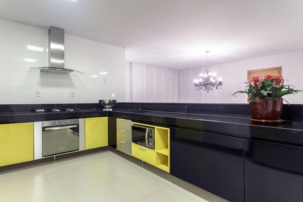 Cozinha Amarela De Janaina Naves Aleggra Design Arquitetura