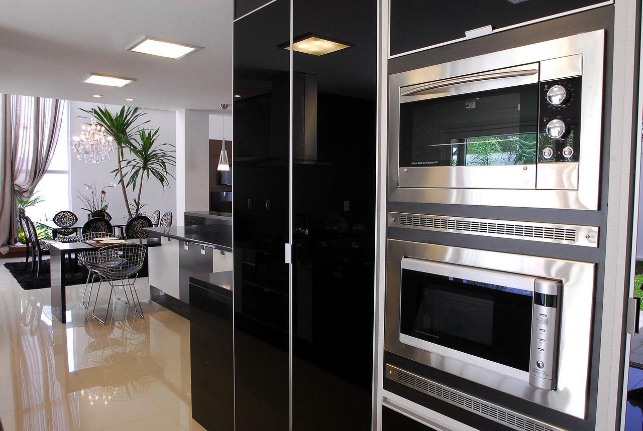 Cozinha Com Eletrodom Sticos Embutidos De Camila Fleck 30386 No