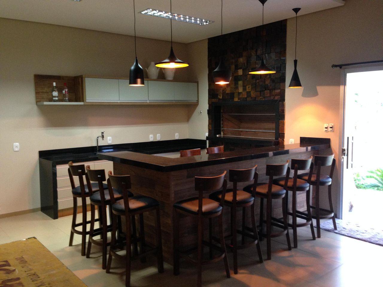 Cozinha Com Ilha Em L De Simone Duch 47892 No Viva Decora