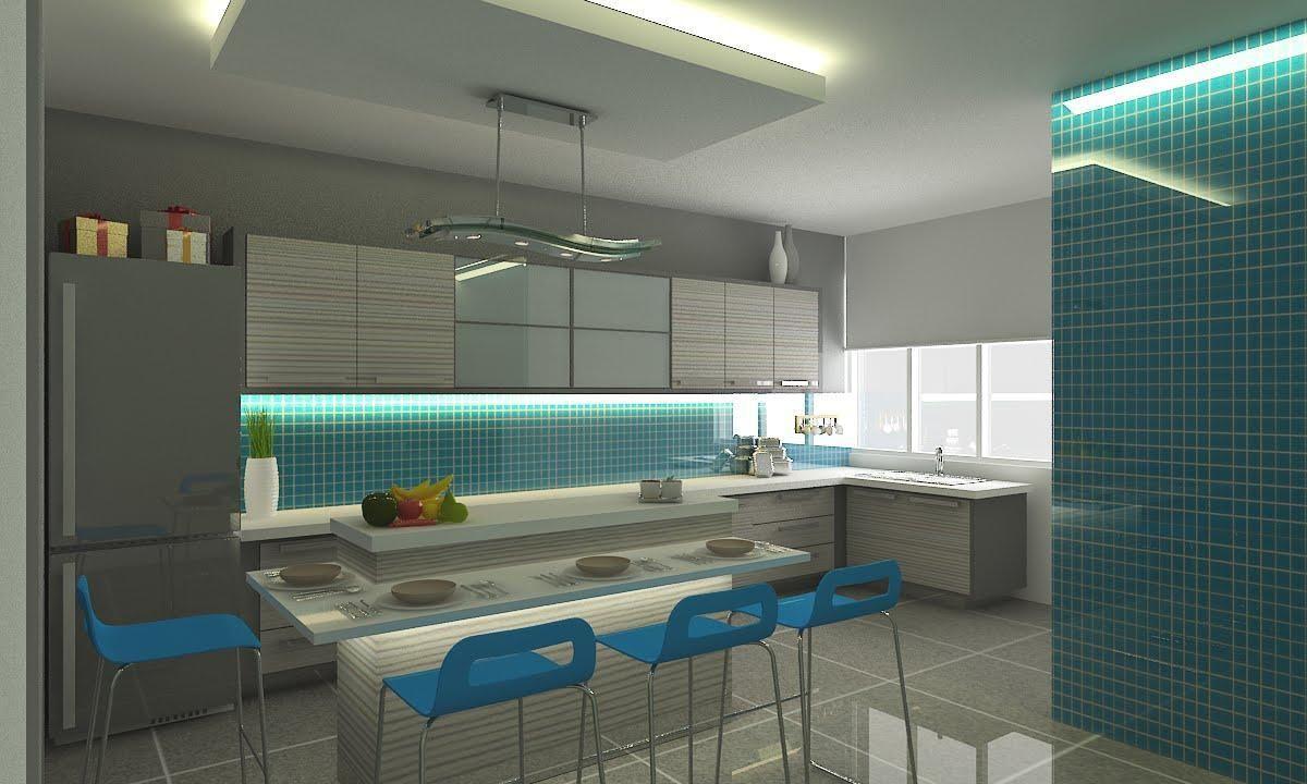 Cozinha Americana Com Pastilha De Vidro Great With Cozinha