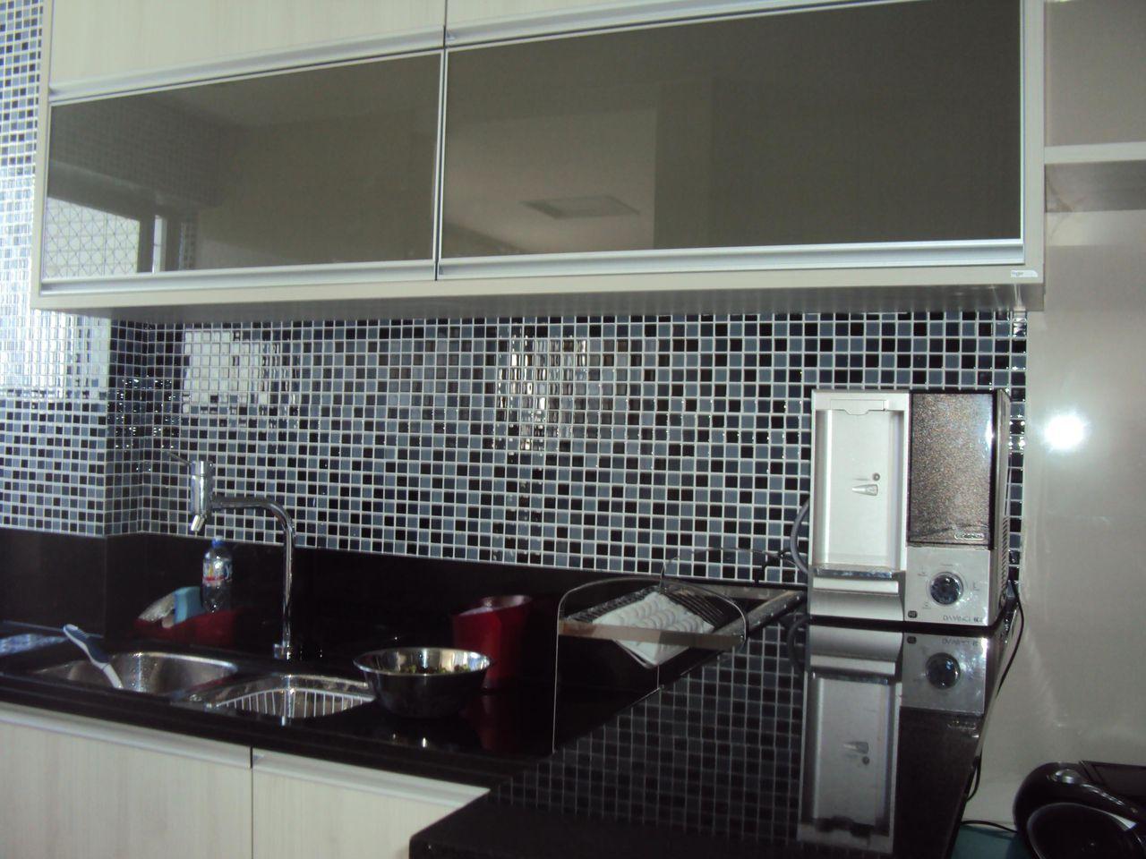Cozinha Com Pastilhas De Claudia Rejene De Araujo Carneir 59665  ~ Cozinha Decorada Com Pastilhas