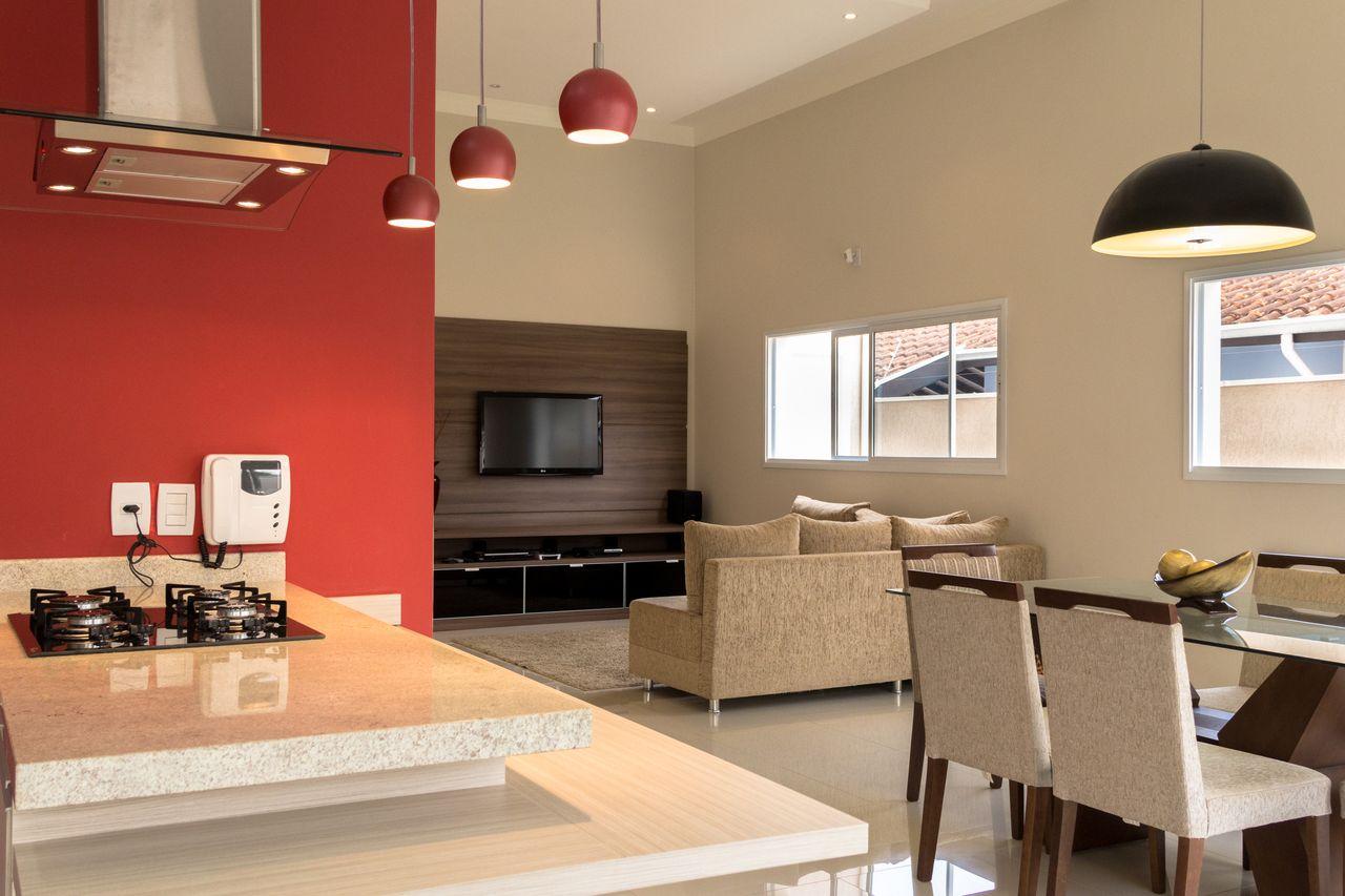 Cozinha Com Pendente Vinho De Sa Engenharia E Arquitetura 140217