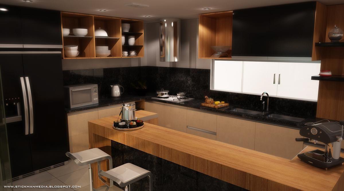 Cozinha Com Pia De M Rmore De Jamim Santos 54905 No Viva Decora