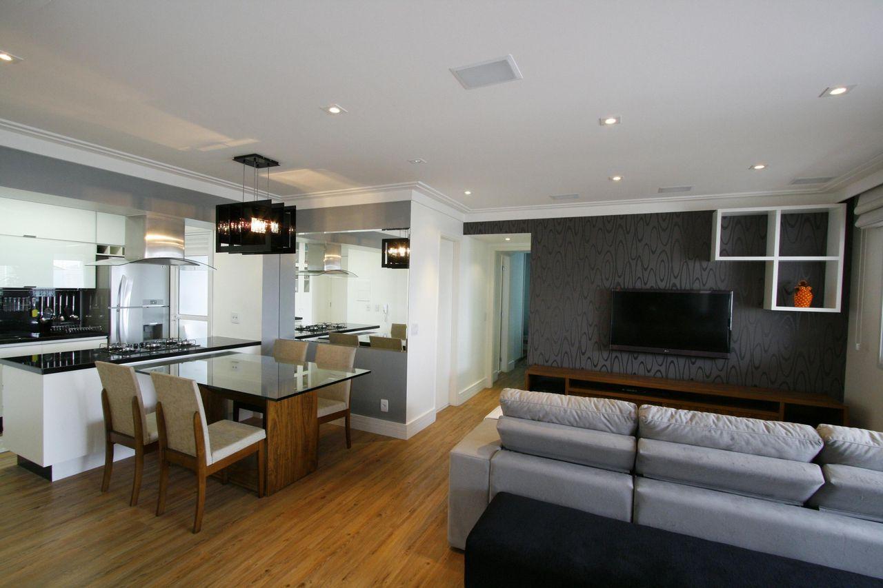 Cozinha Integrada Com Sala De Estar De Priolligaluppo Arquitetura E