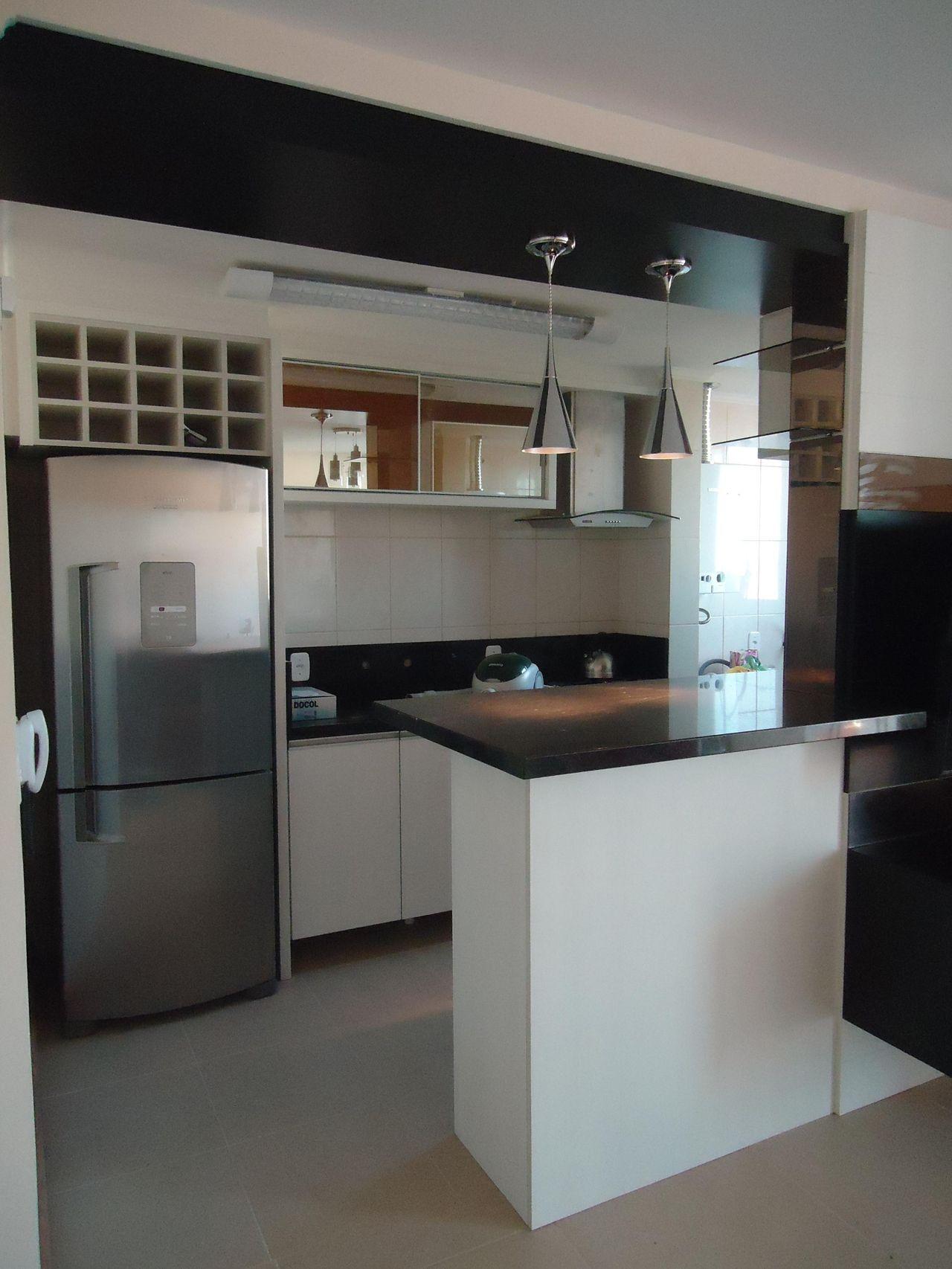 Cozinha Planejada De Elevo Arquitetura 43231 No Viva Decora