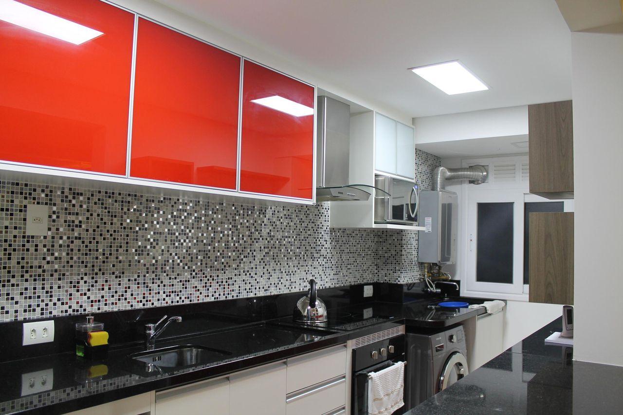 Cozinha Planejada Vermelha Com Preto Oppenau Info