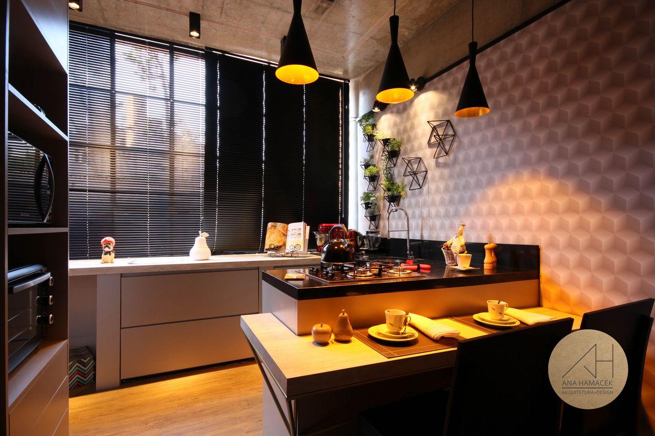 Cozinha Tipo Americana Mini Loft De Ana Hamacek 176788 No Viva