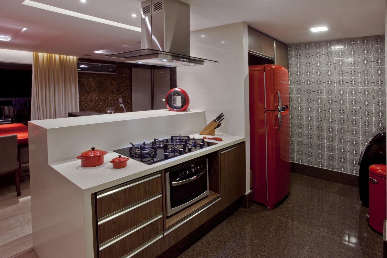 Cozinha Americana Planejada Simples Cozinha Pequena Bella Kaza