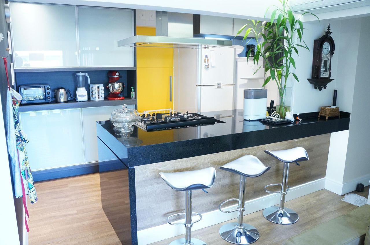 Cozinhas Gourmet Pequenas Na Cozinha Tipo Corredor A Em Formato De