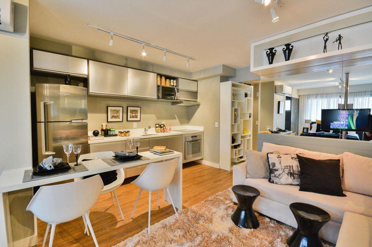 Decorao De Sala Com Cozinha Americana Cheap Cozinhas Integradas S
