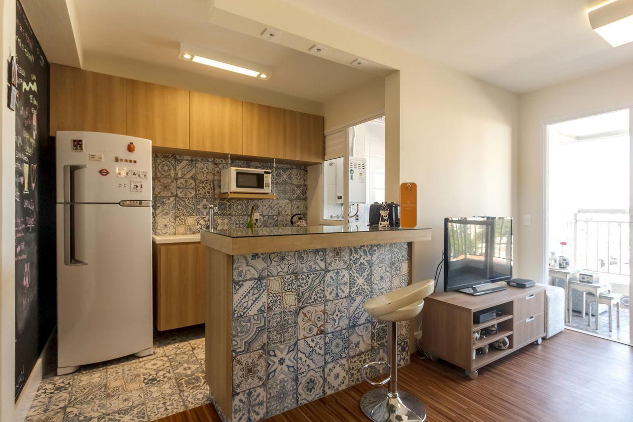 Cozinha Americana Com Sala De Jantar E Estar Decorao De Sala De