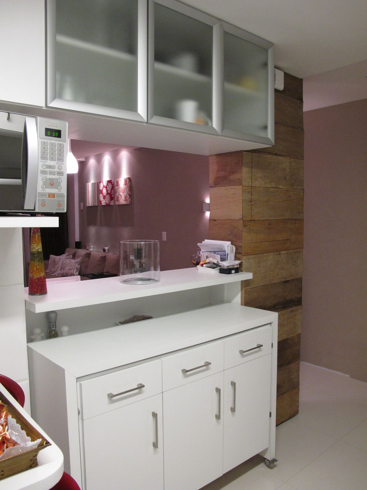 Madeira De Demoli O Na Cozinha Americana De Michele Daltoe 136772