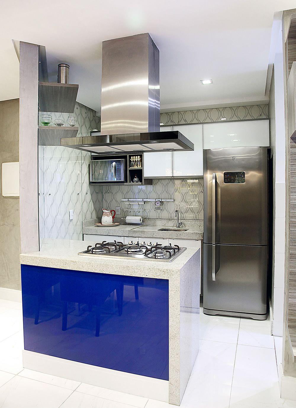 Cozinha Ilha Central Com Cooktop De Favorita Movdecor Favorita