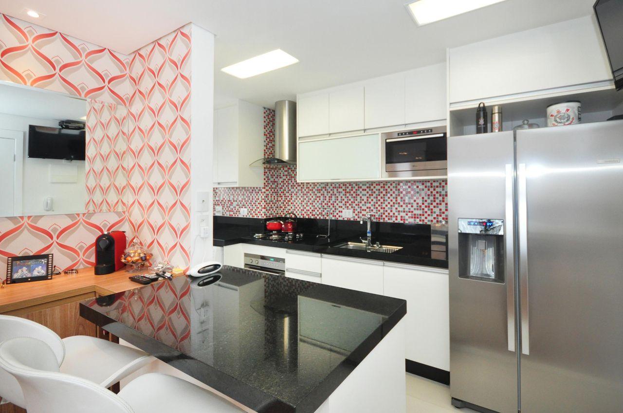 Pastilhas Na Pia Da Cozinha De Condecorar Arquitetura E Interiores  ~ Cozinha Decorada Com Pastilhas