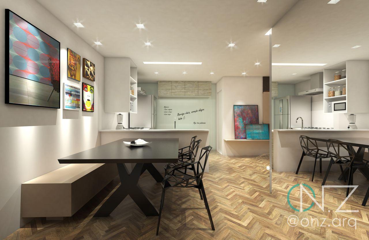Sala De Jantar E Cozinha Integradas Moderna De P Rola Camargo